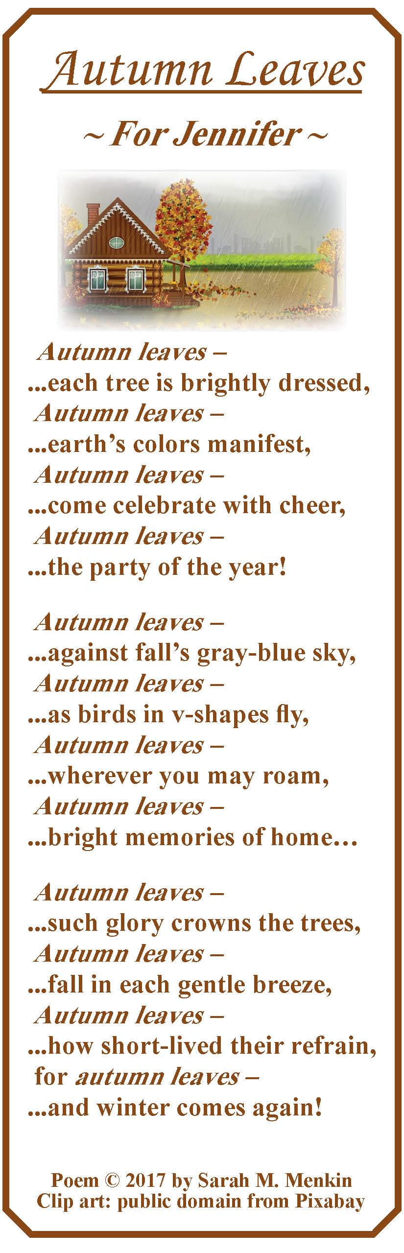 Autumn Leaves 3: SMM